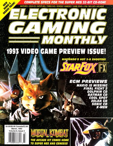 Electronic Gaming Monthly Issue 44 (March 1993)