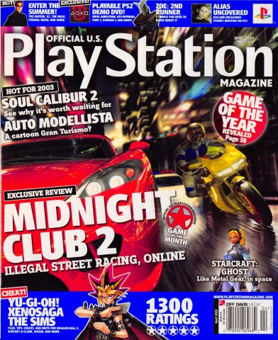 Official U.S. Playstation Magazine Issue 067 (April 2003)