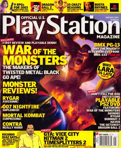 Official U.S. Playstation Magazine Issue 064 (January 2003)