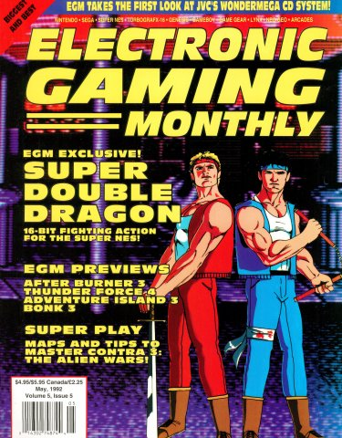 Electronic Gaming Monthly Issue 034 (May 1992)