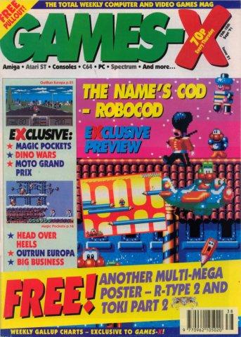 Games-X Issue 21 (September 12, 1991)