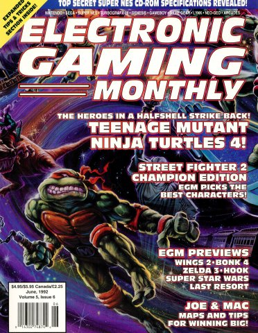 Electronic Gaming Monthly Issue 35 (June 1992)