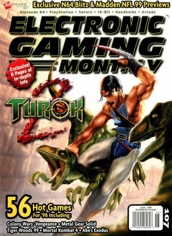 Electronic Gaming Monthly Issue 107 (June 1998)