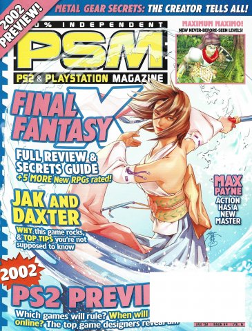 PSM Issue 054 January 2002 (Volume 6 Number 1)