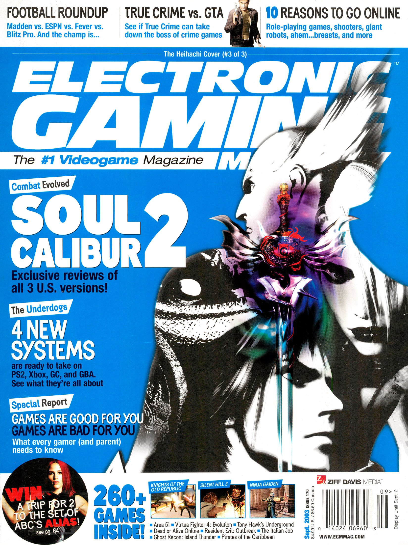 Electronic Gaming Monthly Issue 170 (September 2003) Cover 3 of 3