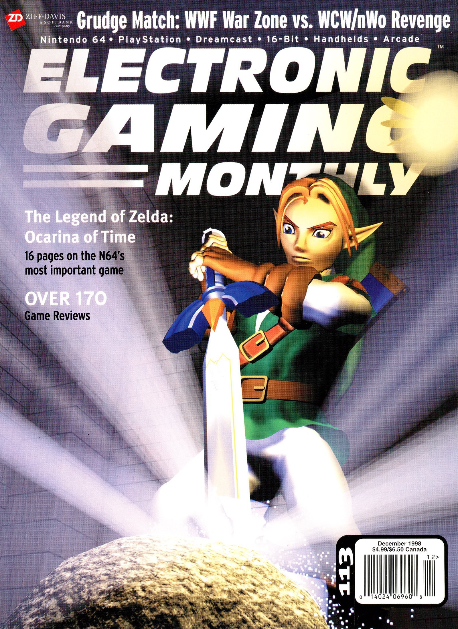 Electronic Gaming Monthly Issue 113 (December 1998)