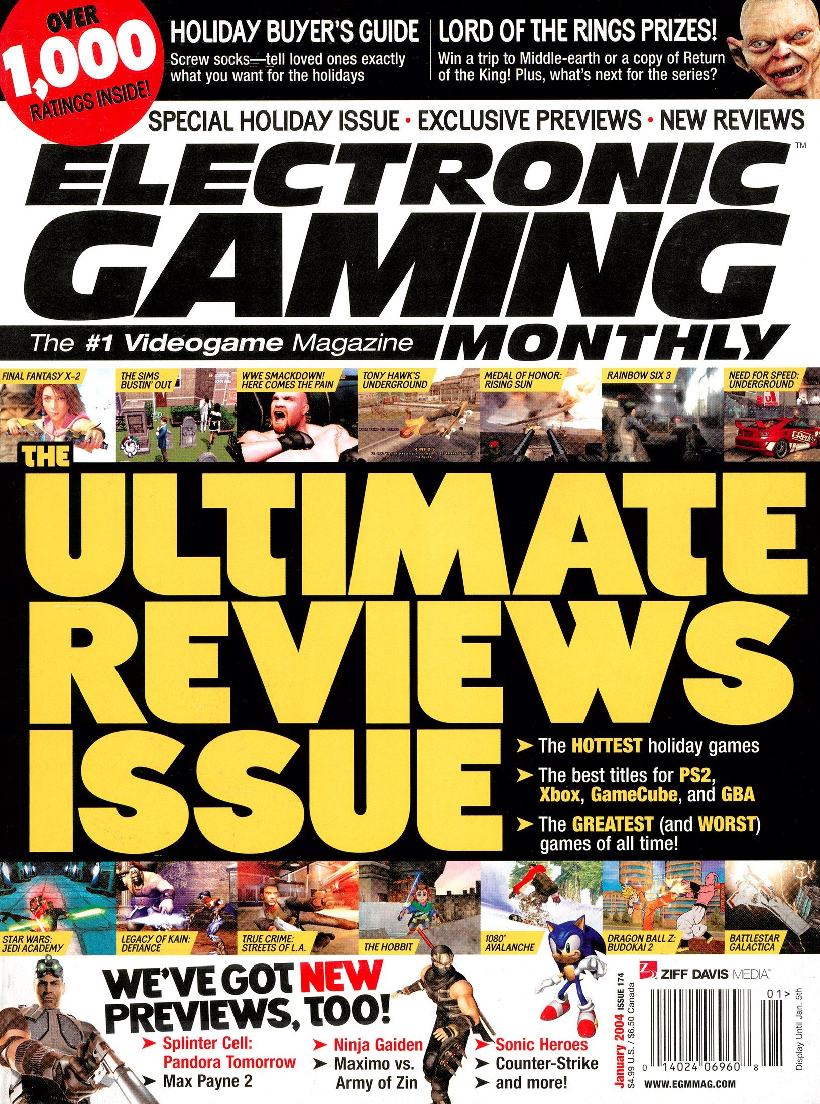 Electronic Gaming Monthly Issue 174 (January 2004)