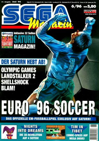 Sega Magazin Issue 31 (June 1996)