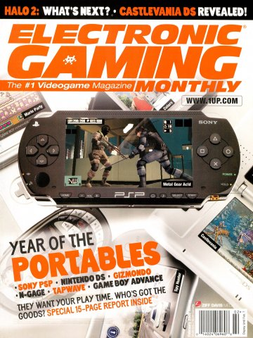 Electronic Gaming Monthly Issue 188 (February 2005)