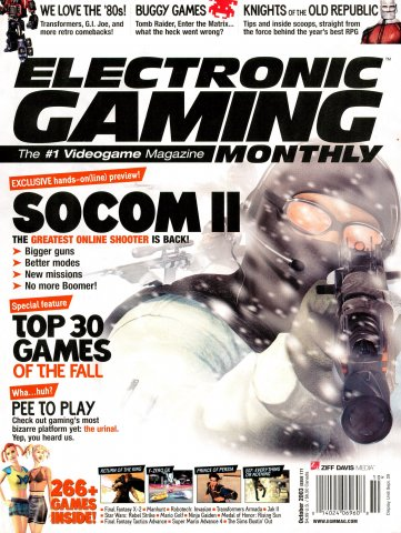 Electronic Gaming Monthly Issue 171 (October 2003)