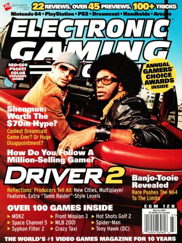 Electronic Gaming Monthly Issue 128 (March 2000)
