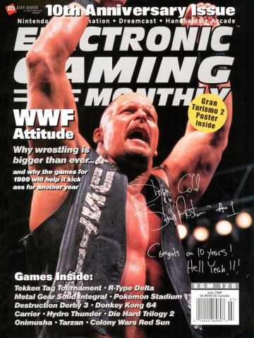 Electronic Gaming Monthly Issue 120 (July 1999) Cover 3