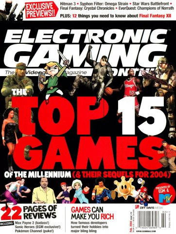 Electronic Gaming Monthly Issue 175 (February 2004)