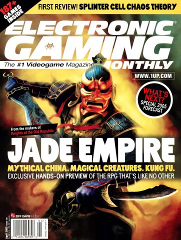 Electronic Gaming Monthly Issue 190 (April 2005)