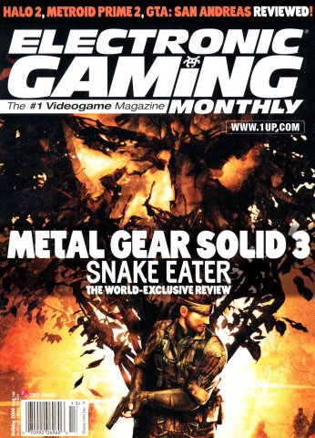 Electronic Gaming Monthly Issue 186 (Holiday 2004)