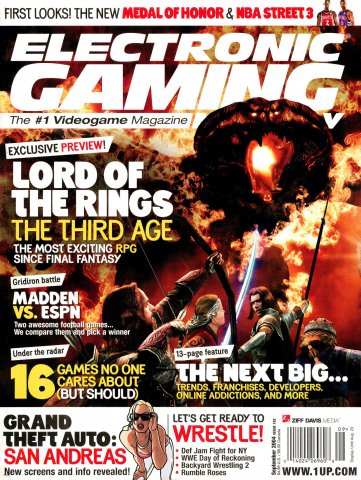 Electronic Gaming Monthly Issue 182 (September 2004)