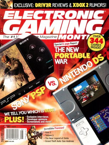 Electronic Gaming Monthly Issue 181 (August 2004)