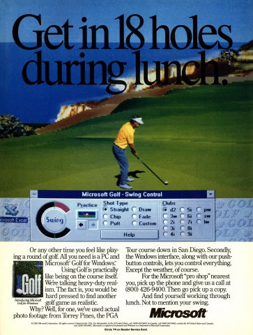 Microsoft Golf