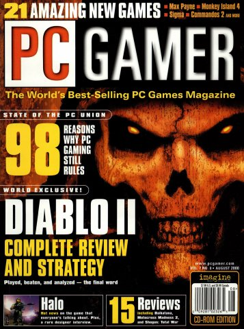 PC Gamer Issue 075 August 2000
