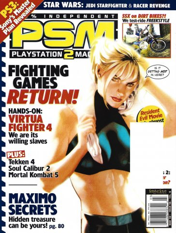 PSM Issue 056 March 2002 (Volume 6 Number 3) *full cover*