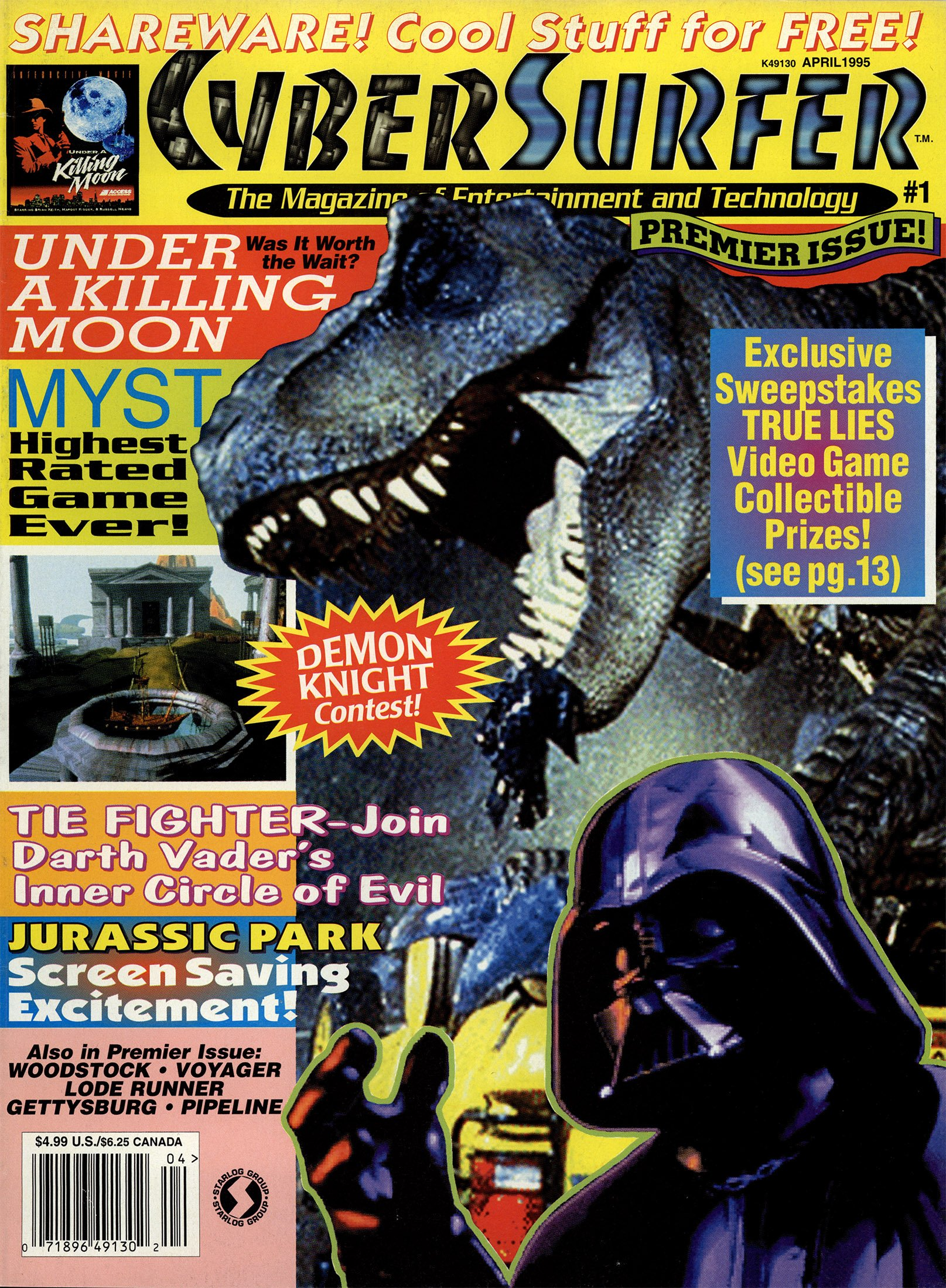 CyberSurfer Issue 01 (April 1995)