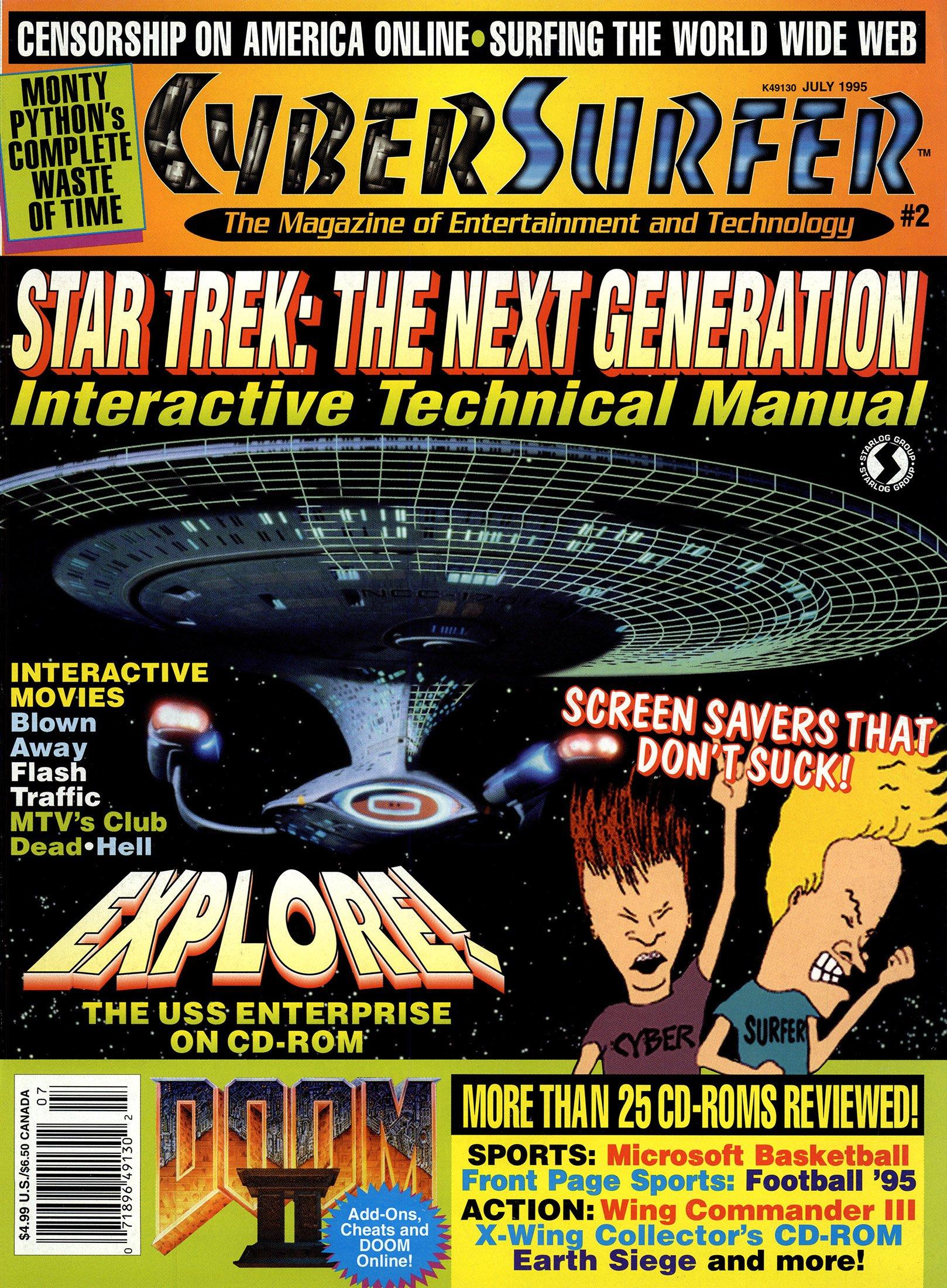 CyberSurfer Issue 02 (July 1995)