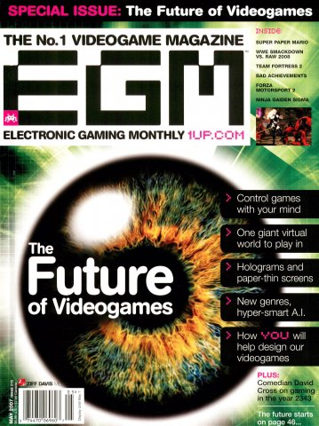 Electronic Gaming Monthly Issue 215 (May 2007)