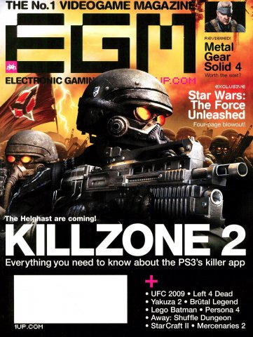 Electronic Gaming Monthly Issue 231 (August 2008)
