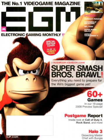Electronic Gaming Monthly Issue 225 (February 2008) Cover 4 or 12