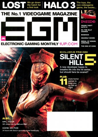 Electronic Gaming Monthly Issue 220 (October 2007)