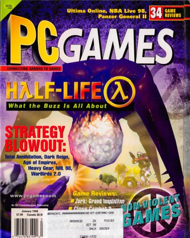 PC Games Vol. 05 No. 01 (January 1998)