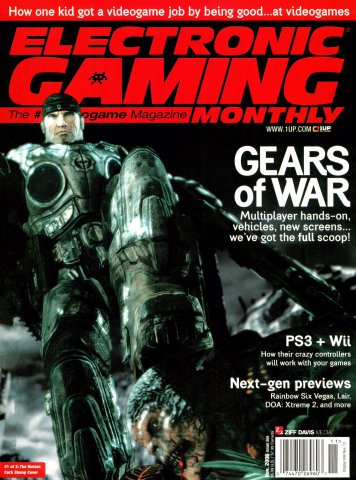 Electronic Gaming Monthly Issue 209 (November 2006)