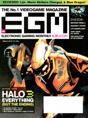 Electronic Gaming Monthly Issue 219 (September 2007) Cover 3