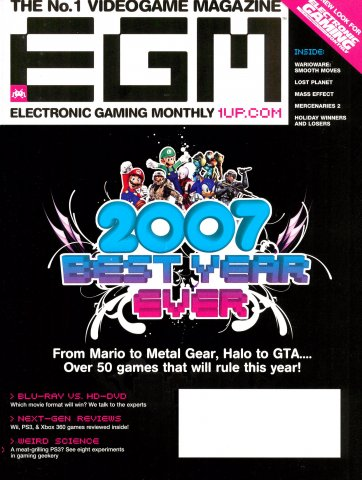 Electronic Gaming Monthly Issue 212 (February 2007)