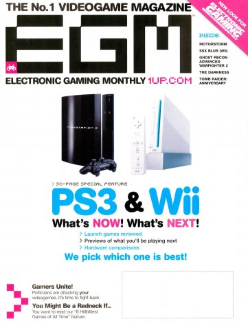 Electronic Gaming Monthly Issue 211 (January 2007)