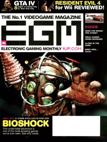 Electronic Gaming Monthly Issue 217 (July 2007)