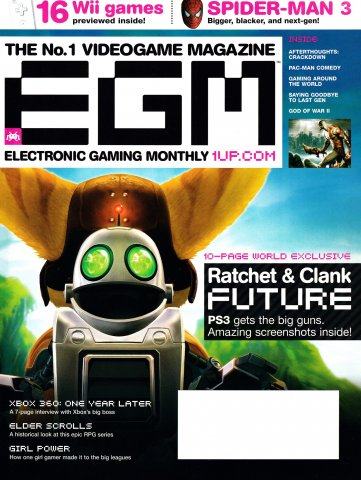 Electronic Gaming Monthly Issue 214 (April 2007)