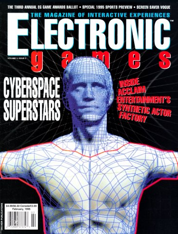 Electronic Games Issue 29 February 1995 (Volume 3 Issue 5)