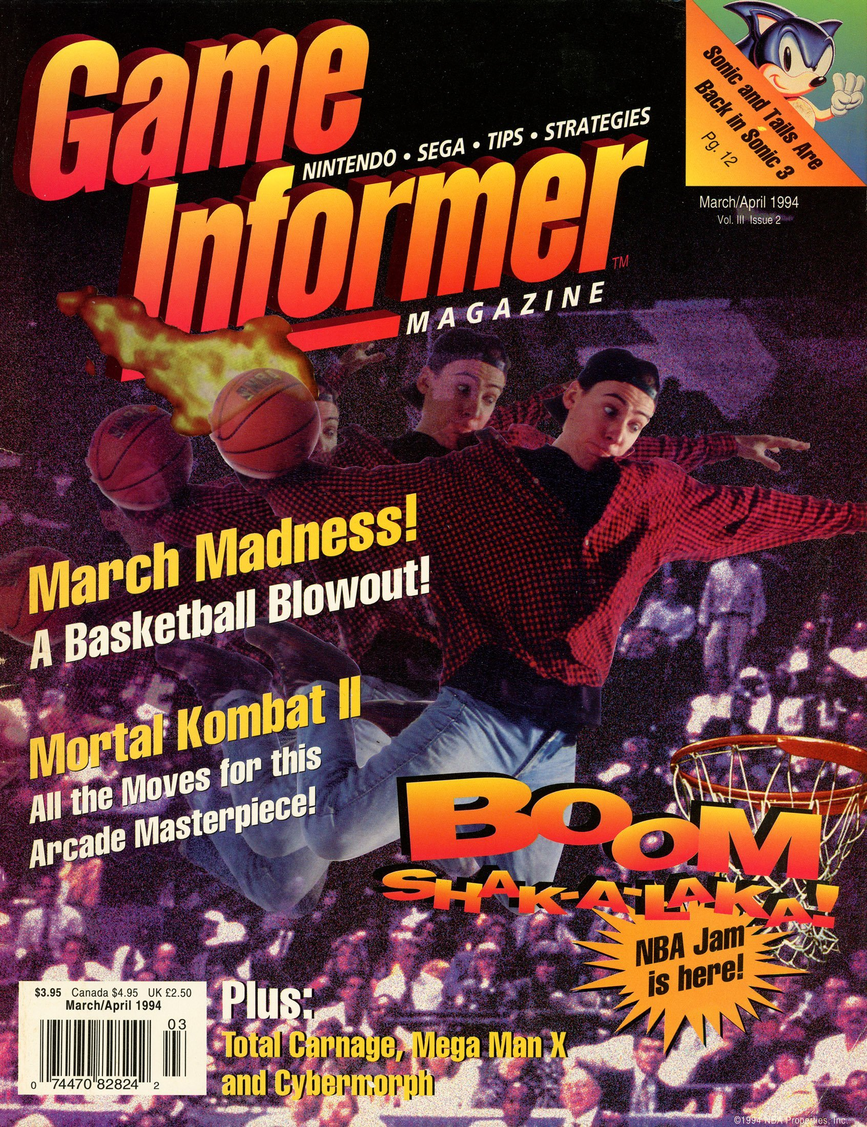 Game Informer Issue 015 March/April 1994