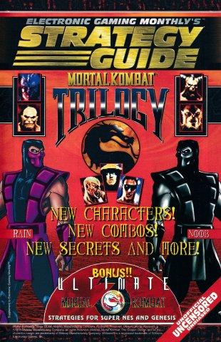 Mortal Kombat Trilogy Strategy Guide (EGM 88 November 1996)
