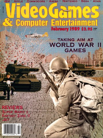 Video Games & Computer Entertainment Issue 02 (February 1989)