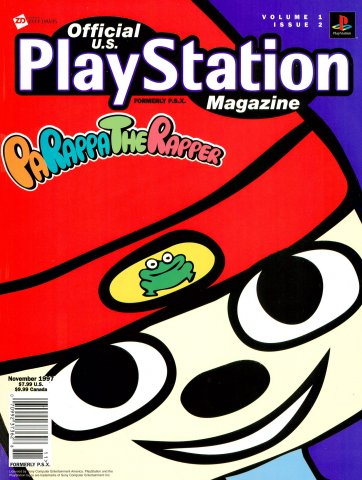 Official U.S. PlayStation Magazine Issue 002 (November 1997)