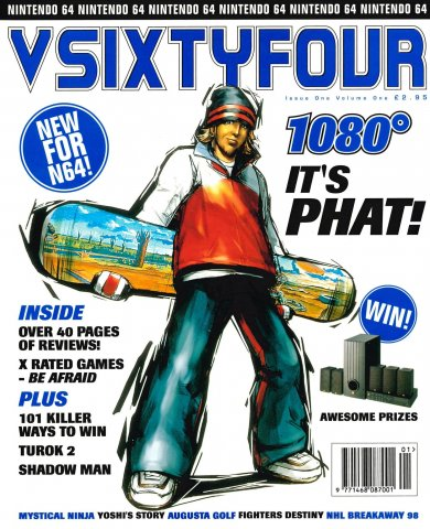 VSIXTYFOUR Issue 1 (March 1998)