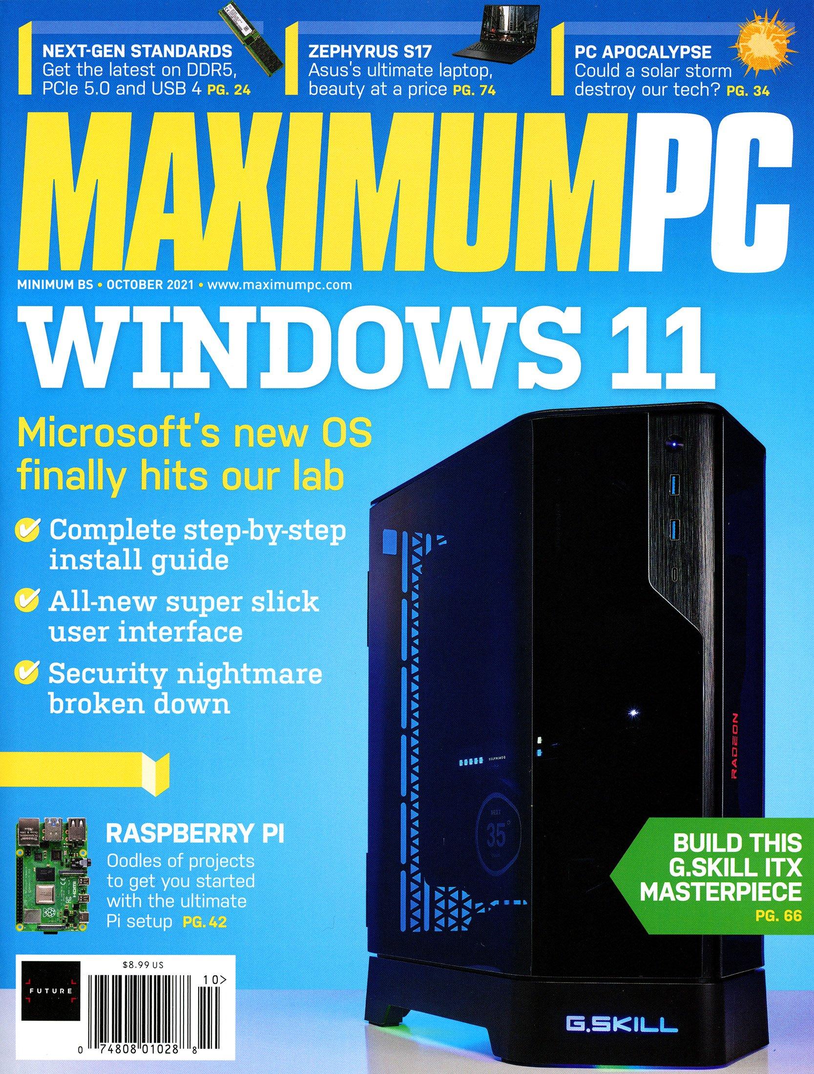 Maximum PC Volume 26 No 10 (October 2021)