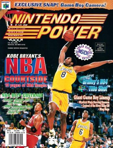 Nintendo Power Issue 107 (April 1998)