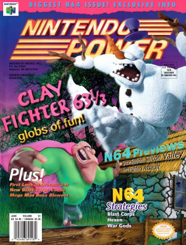 Nintendo Power Issue 097 (June 1997)