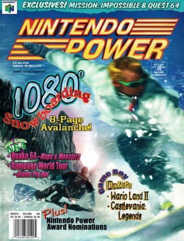 Nintendo Power Issue 106 (March 1998)