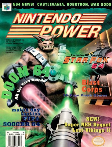 Nintendo Power Issue 096 (May 1997)