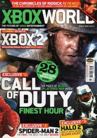 Xbox World Issue 015 (August 2004)
