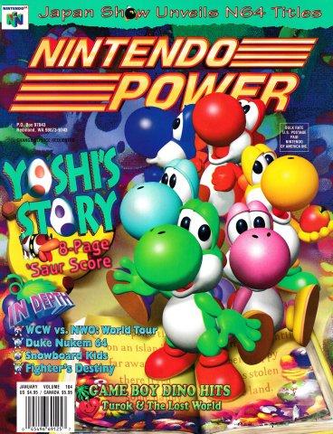 Nintendo Power Issue 104 (January 1998)